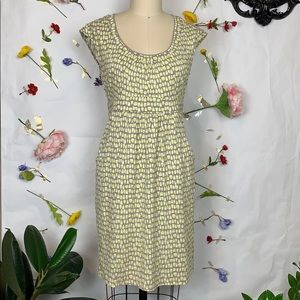 Boden casual weekend knit print dress